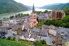 Rhine River views Stock Photo