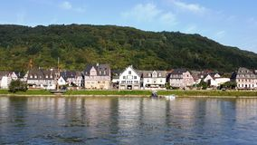 Rhine river views Royalty Free Stock Photos