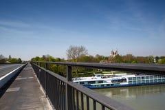 Rhine at Soeyer Royalty Free Stock Photography
