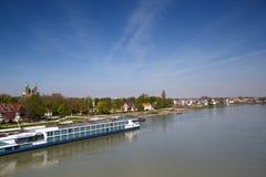 Rhine at Speyer Stock Image