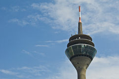 Rhine tower Royalty Free Stock Photo
