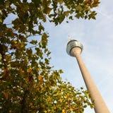 Rhine tower of Düsseldorf Royalty Free Stock Images