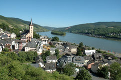 The Rhine Valley Royalty Free Stock Photos