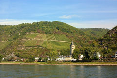 Rhine Valley, Germane Stock Photos