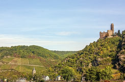Rhine Valley, Germane Royalty Free Stock Images