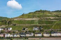 Rhine Valley, Germane Royalty Free Stock Image
