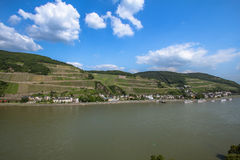 Rhine Valley Royalty Free Stock Photos