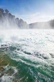 rhine vattenfall Fotografering för Bildbyråer