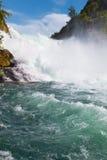 rhine vattenfall Royaltyfri Bild
