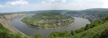 Rhine View Stock Photo