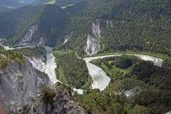 Rhine wąwóz Zdjęcia Royalty Free