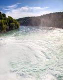 Rhine waterfall Stock Image