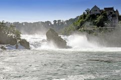 Rhine waterfalls Royalty Free Stock Photography