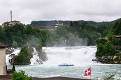 Rhine waterfalls, Switzerland Royalty Free Stock Photo