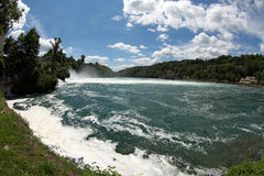 Rhinefall Lizenzfreies Stockbild