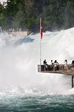 Rhine Falls, the biggest waterfall in Europe, Switzrland Royalty Free Stock Image