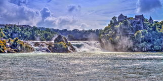 Rhinefalls, Switzerland Stock Photography