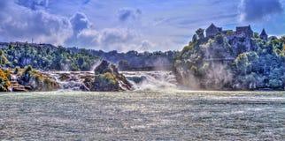 Rhinefalls, Switzerland Stock Photography