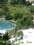 Rhinefalls Switzerland / Germany Royalty Free Stock Images