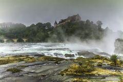 Rhinefalls, Switzerland Royalty Free Stock Images