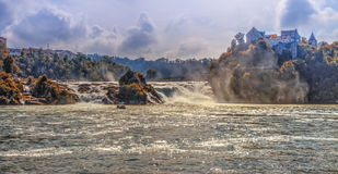 Rhinefalls, Switzerland Royalty Free Stock Photos
