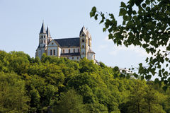 Rhineland-Palatinate,View of arnstein abbey Royalty Free Stock Photos