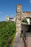 Rhineland-Palatinate,View of arnstein abbey Royalty Free Stock Photography