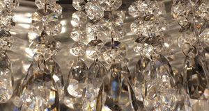 Rhinestone diamonds crystal sparkle wallpaper background stock images