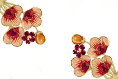 Rhinestone Lily Flowers Royalty Free Stock Photo