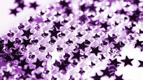 Rhinestone and stars stock video