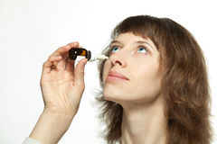 A rhinitis medicine Royalty Free Stock Images