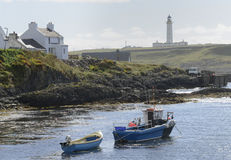 Rhinns lighthouse Stock Photos