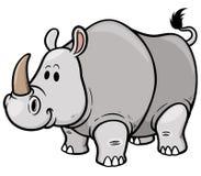 rhino ilustración del vector