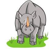 rhino illustrazione vettoriale