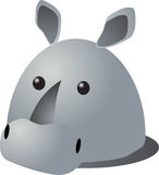 Rhino cartoon Royalty Free Stock Images