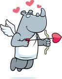 Rhino Cupid Royalty Free Stock Image