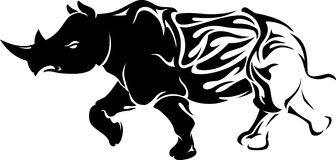Rhino Flame Stock Photo