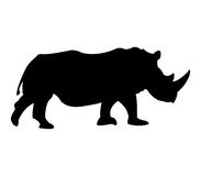 Rhino icon illustrated Stock Photo