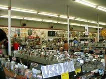 Rhino Records, Claremont, California, U.S.A. fotografia stock