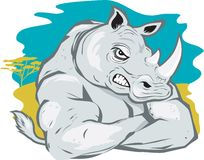 Rhino Tough Stock Photography