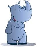 Rhinocéros illustration stock