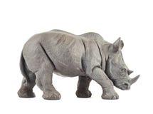 Rhinoceros rhino sculpture Stock Photo
