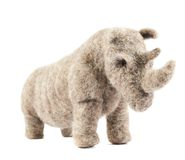 Rhinoceros rhino sculpture Royalty Free Stock Photos