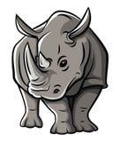 Rhinoceros Tattoo Stock Images