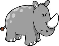 Rhinoceros Vector Illustration Stock Images