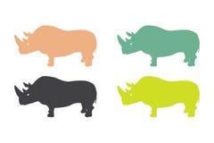 rhinoceroses Стоковые Изображения