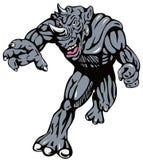 rhinoman супергерой бесплатная иллюстрация
