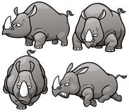rhinos Fotos de archivo libres de regalías
