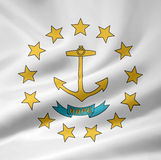 Rhode Island Flag. Very large version of a Rhode Island Flag Stock Photo