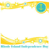 Rhode Island Independence Day Royalty Free Stock Photography